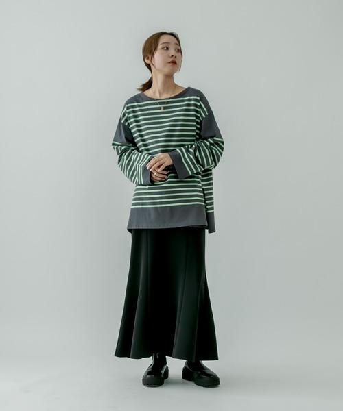 [mystic] ストレッチマーメイドスカート