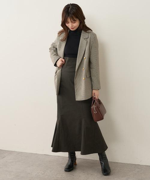 [natural couture] ハイウエストマーメイドスカート Mサイズ