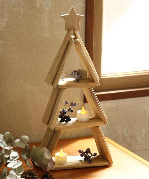 クリスマス 流木風ツリー