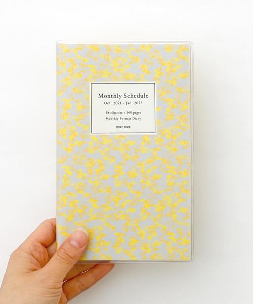 シックな花柄がかわいい人気のおしゃれな手帳
