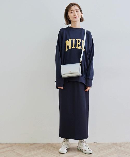 [ROPE' PICNIC] 【セットアップ対応】リブカットスカート