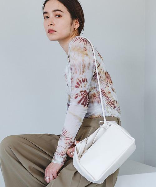 【chuclla】Twist handle square bag