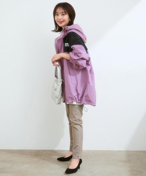 [ViS] 【OUTDOOR PRODUCTSコラボ】【洗濯可】オーバーサイズバイカラーフィールドジャケット
