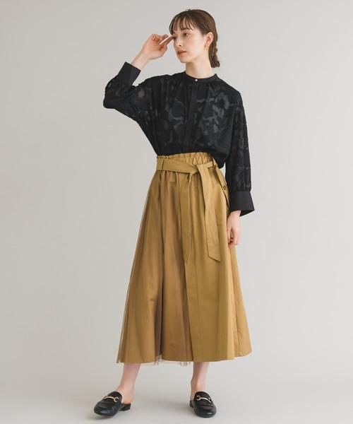[Paradise Picnic] 【KATHARINE ROSS】チュールジョイントスカート