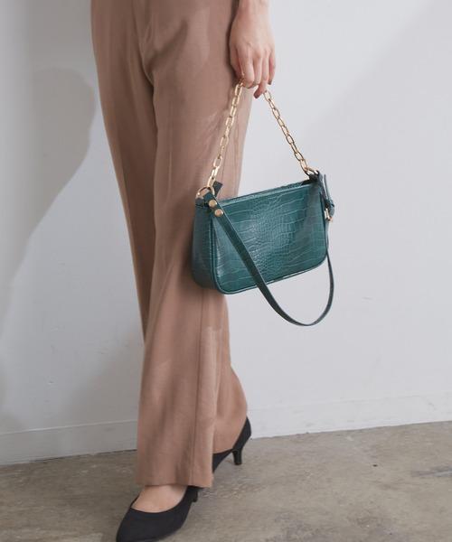 [ViS] 斜めがけもできる、マルチWAYチェーンバッグ