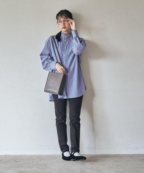 [coen] 【WEB限定サイズ(XL)】ウォームスキニーデニムパンツ