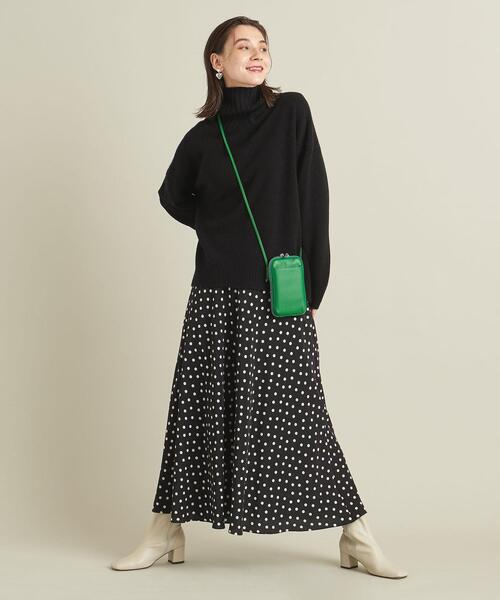 [BEAUTY&YOUTH UNITED ARROWS] BY ドットマーメイドマキシスカート -ウォッシャブル- ∴