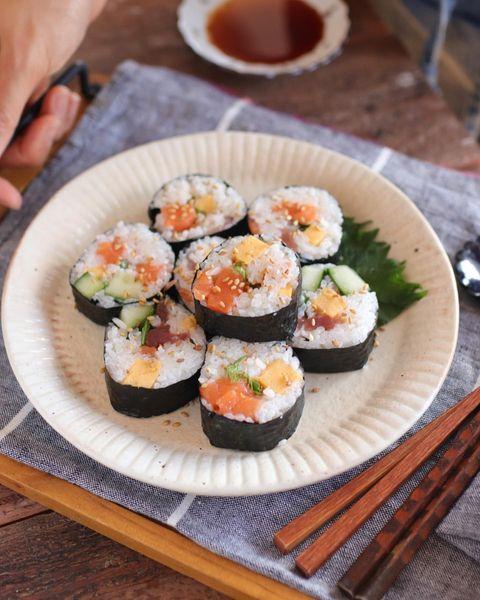 日本酒に合う人気の巻き寿司