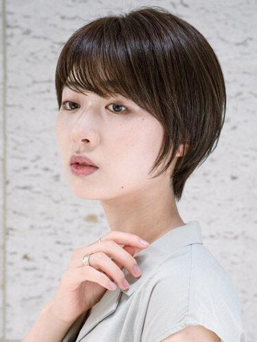 小顔効果が期待できる髪型