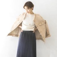 《2021秋冬》大人女性のプリーツスカートコーデ集。旬の着こなしをご紹介