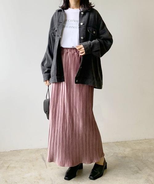 プリーツスカート16