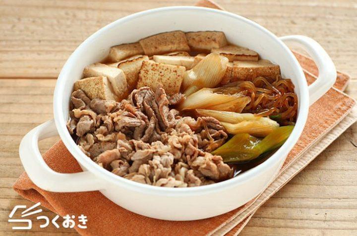 ボリュームおつまみ肉豆腐