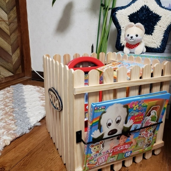 DIYで子供部屋に便利なおもちゃ収納ラック