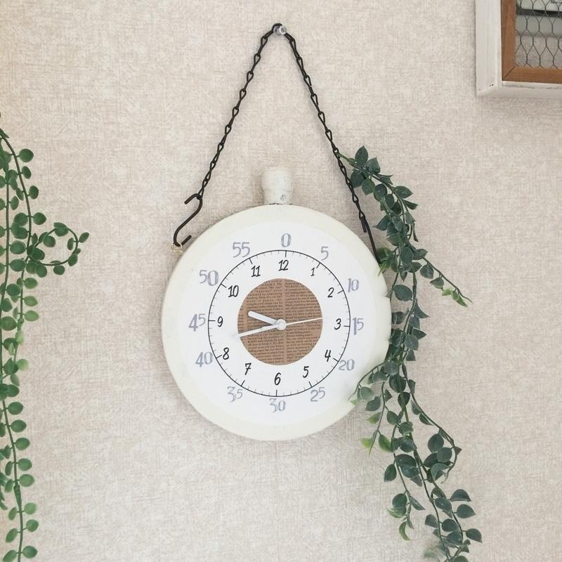 お子さんのお勉強にも役立つ壁掛け時計