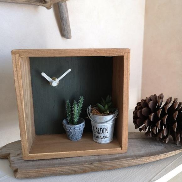 ディスプレイもできる置き時計