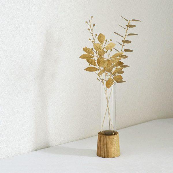 ブリキスティックとガラスの花瓶7