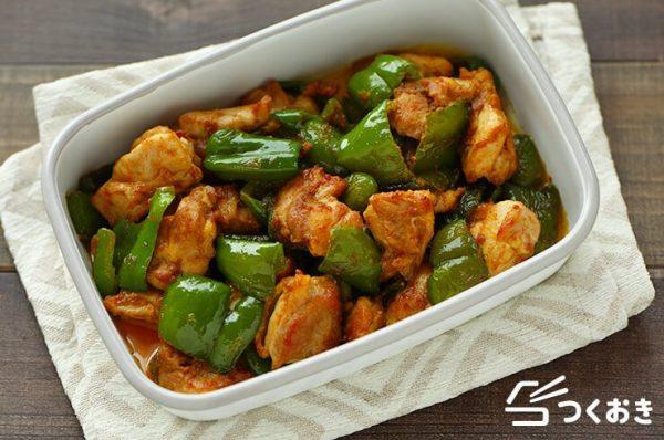 鶏肉とピーマンに合う人気カレーマヨ炒め