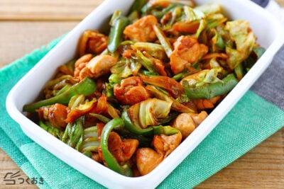 鶏肉で作れる人気中華風料理の回鍋肉