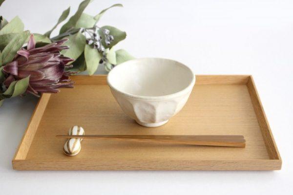 美濃焼 菊花 飯碗 磁器