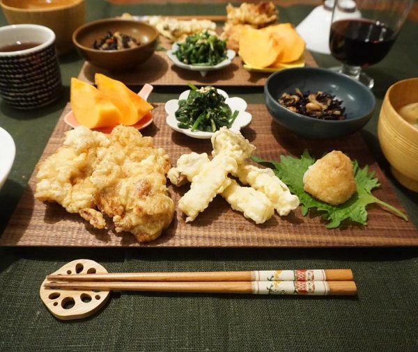 和食献立の副菜に合うとり天に合うひじき煮