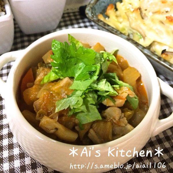 冬が旬の野菜でも美味しい簡単ラタトゥイユ