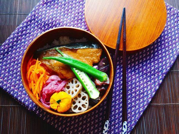 冬に美味しい魚のお弁当ならぶりの照り焼き