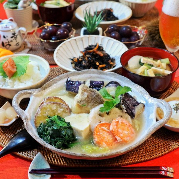 旬の鱈と野菜の人気レシピの生姜みぞれあん