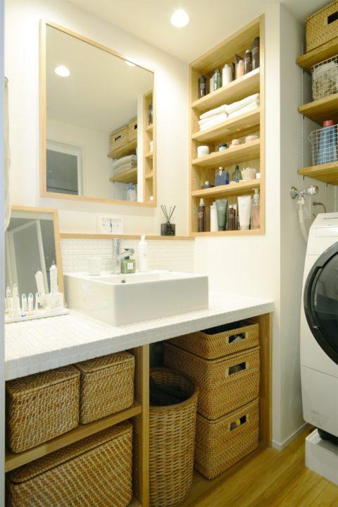 無印の家具でモジュールを統一。素材感あふれるシンプルリノベーション8