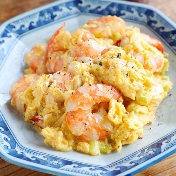 えびと卵のふんわり炒め
