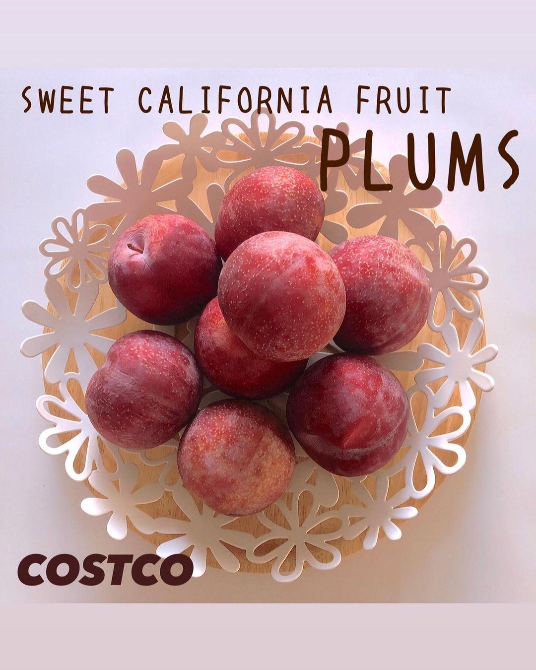 カリフォルニアのフルーツ