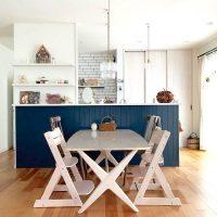 憧れの《おしゃれなダイニングキッチン》実例集。統一感が出る空間レイアウト方法
