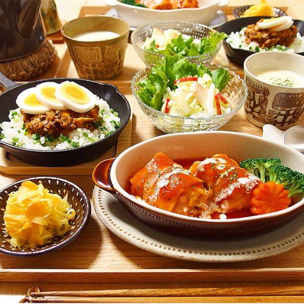 冬の洋食献立の人気レシピ!ロールキャベツ