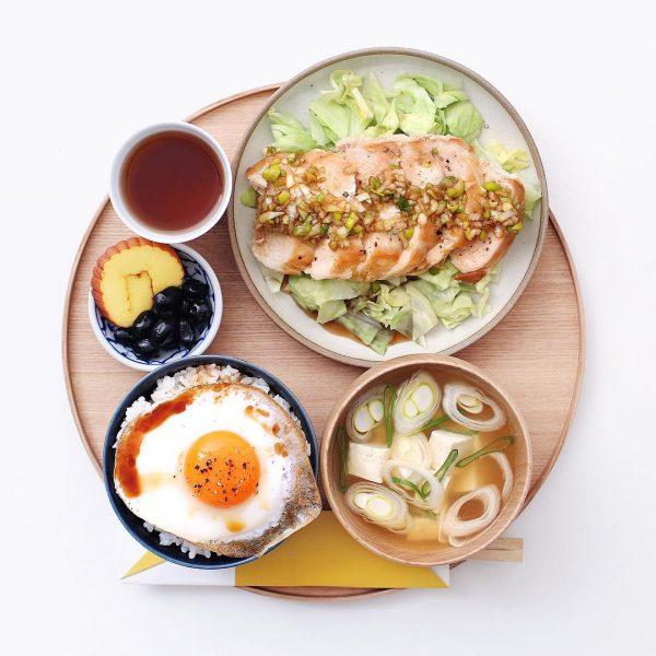 朝に食べたい鶏胸肉のネギポンかけ