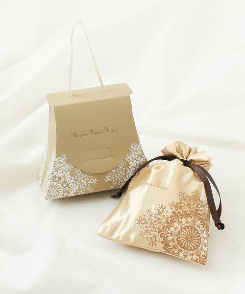 小物用のBOX付き高見えラッピング袋