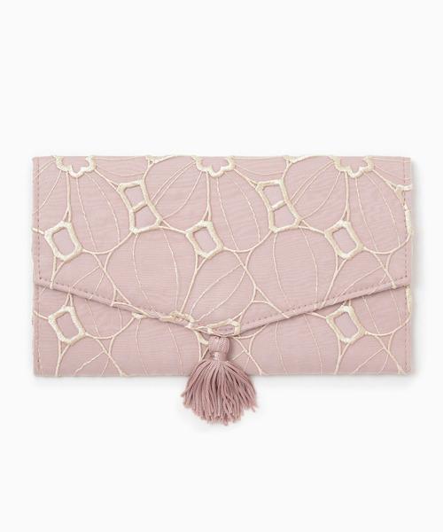 幸せを運んでくれそうなピンクの袱紗