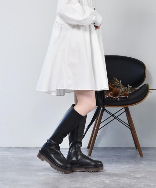 【RETRO GIRL】厚底ロングブーツ