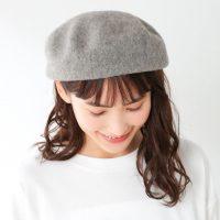 2021秋冬のベレー帽はグレーがおすすめ。コーデのスパイスになる上級物の合わせ方