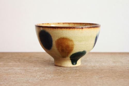 美濃焼 飯碗 三彩 陶器