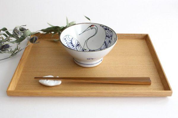 kotohogi くらわんか碗 鶴 陶器 波佐見焼