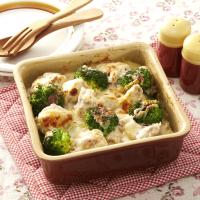 下味冷凍を活用!塩ヨーグルトチキンとポテトのグラタン