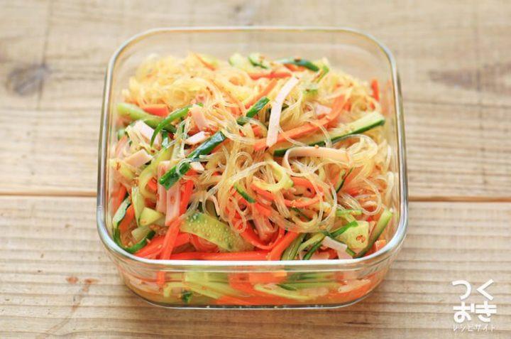 さっぱり料理の中華春雨サラダ
