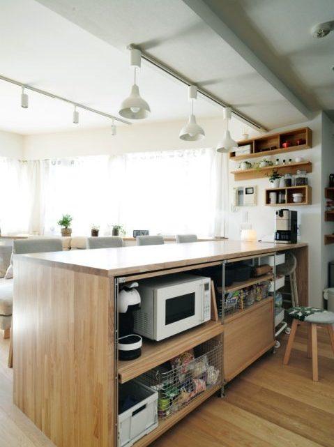 無印の家具でモジュールを統一。素材感あふれるシンプルリノベーション5