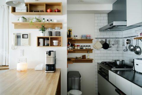 無印の家具でモジュールを統一。素材感あふれるシンプルリノベーション4