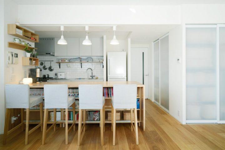 無印の家具でモジュールを統一。素材感あふれるシンプルリノベーション2