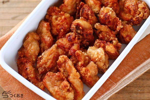 人気レシピのオイスター鶏ももから揚げ