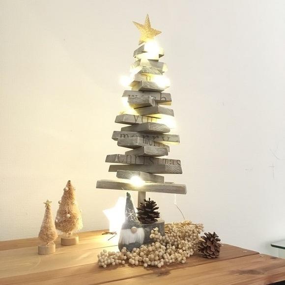 端材で作る簡単クリスマスツリー
