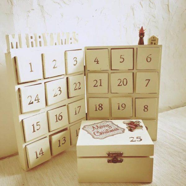 100均材料で作れる簡単アドベントカレンダー