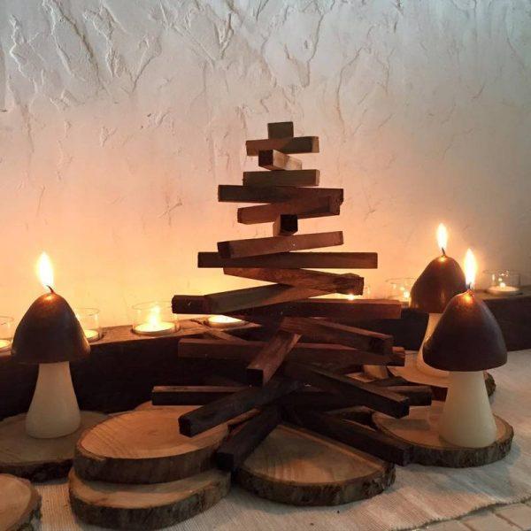 インテリアにも馴染むおしゃれなクリスマスツリー