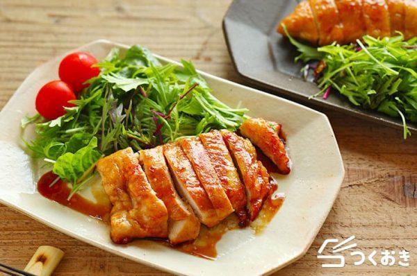 食べごたえのある鶏むね肉の照り焼きレシピ