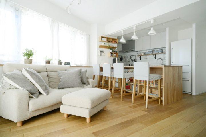 無印の家具でモジュールを統一。素材感あふれるシンプルリノベーション3